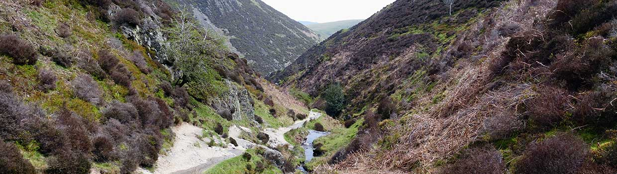 Church Stretton Carding Mill Valley