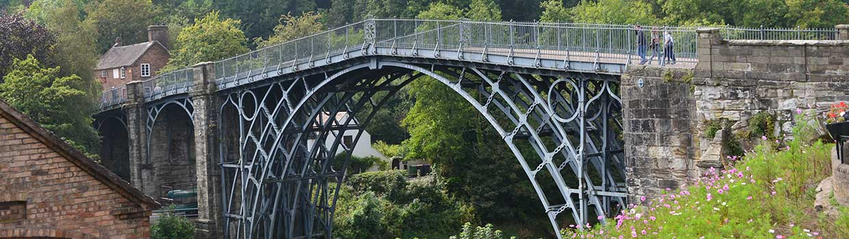 The Ironbridge Gorge